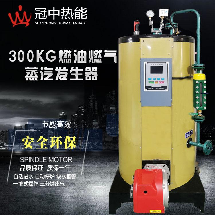 300kg全自动立式燃气蒸汽发生器